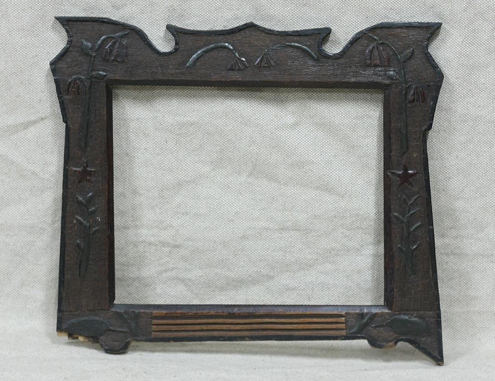 антиквариат рамка для фото покажу